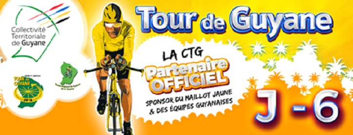 Tour de Guyane 2016 : J-6 ! Suivez la course au bord des routes