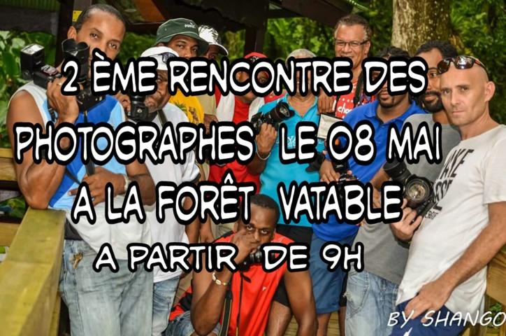 La deuxième rencontre des photographes est prévue le 8 mai !