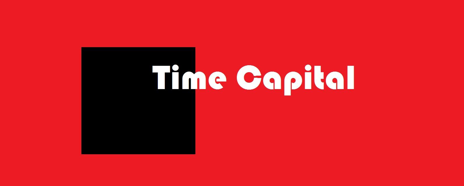 Votre temps est votre premier capital