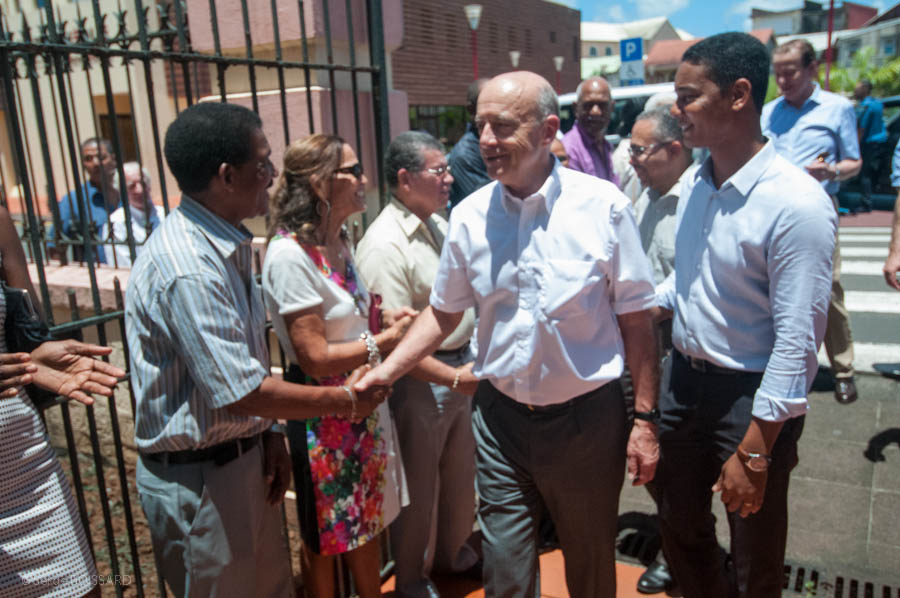 MAKAC LA vous fait vivre tous les instants de la visite d'Alain JUPPE en Martinique