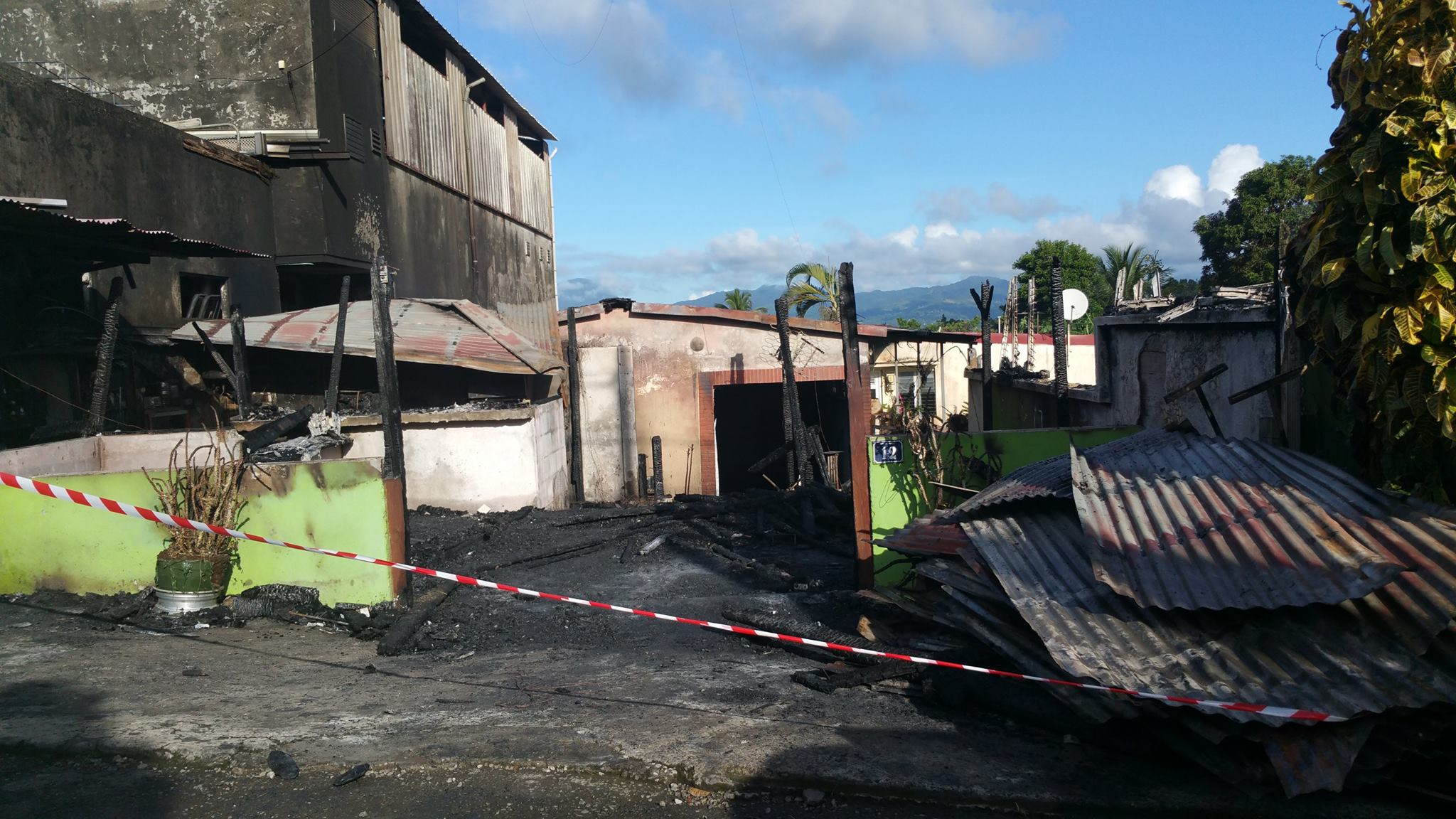 Photo incendie Ville du ROBERT