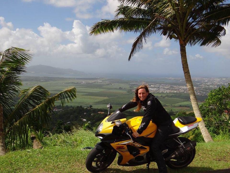 Qui était la motarde qui a trouvé la mort sur les routes de la Martinique?