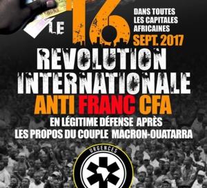 [APPEL A LA RÉVOLUTION ANTI-FRANC CFA LE 16 SEPTEMBRE EN AFRIQUE ET DANS LA DIASPORA]