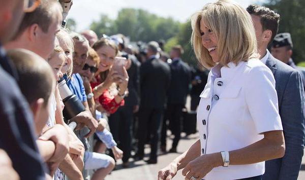 Brigitte MACRON première ambassadrice de la touche Française !