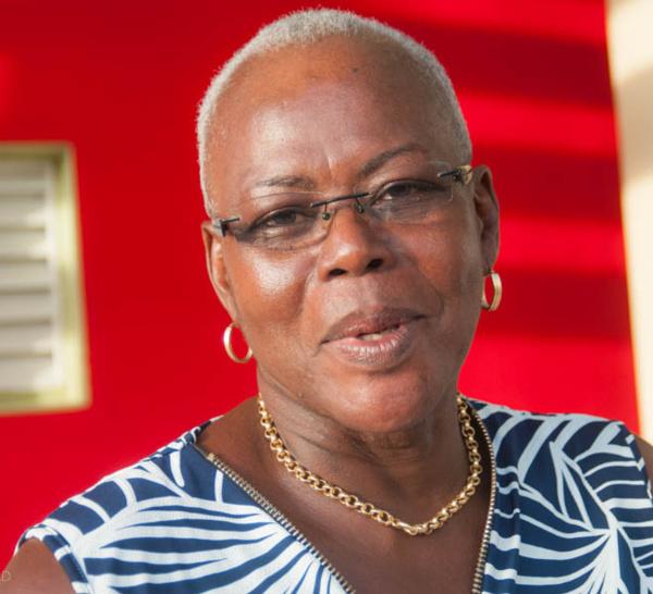 Josette MANIN première député femme de la MARTINIQUE