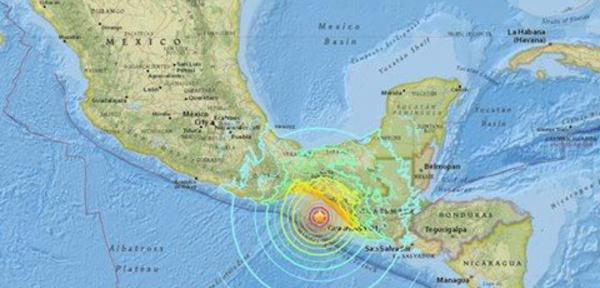 Un séisme de magnitude 8,4 frappe le sud du Mexique.
