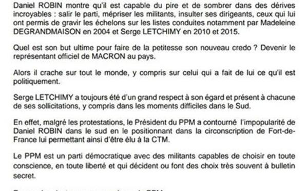 A défaut de traiter le cas  Yvon PAQUIT , Didier LAGUERRE et Alain ALFRED  se défoulent t-ils sur le cas Daniel  ROBIN?
