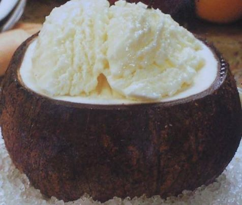 La recette  Sorbet Coco... Temps de préparation : 15 minutes