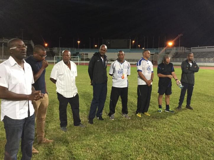 Le conseil de sélection de football de Martinique a été officiellement installé.