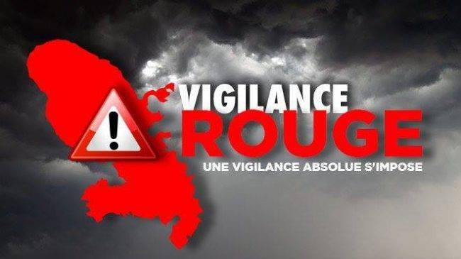 """Le préfet Franck Robine met la Martinique en alerte rouge """" fortes pluies """""""
