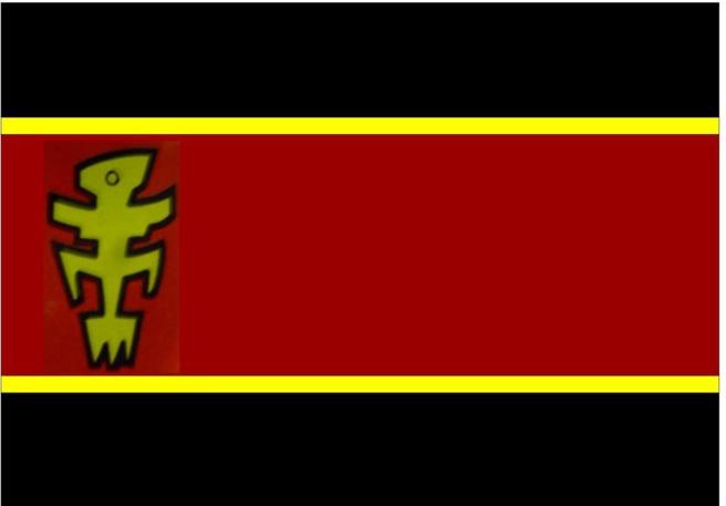 Le seul drapeau brandi par Marc Pulvar selon DMS