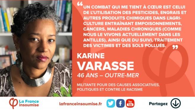 Karine Varasse, celle qui avait battu Louis Boutrin aux législatives,  candidate aux Européennes  !