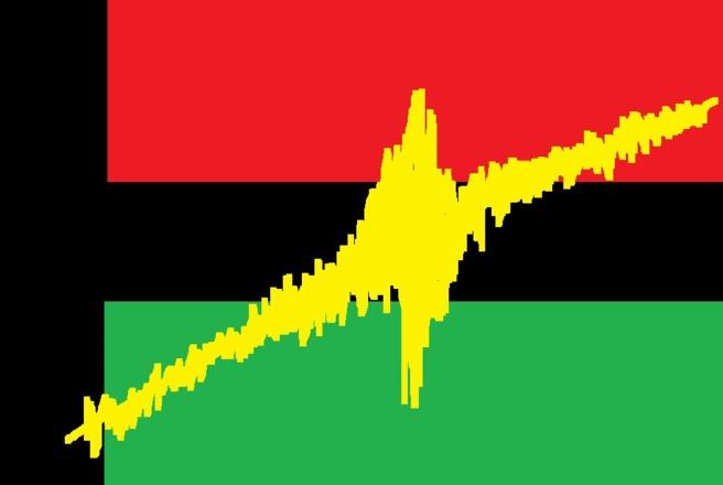 Dernière minute : Le président a exigé du jaune dans le drapeau rouge vert noir.