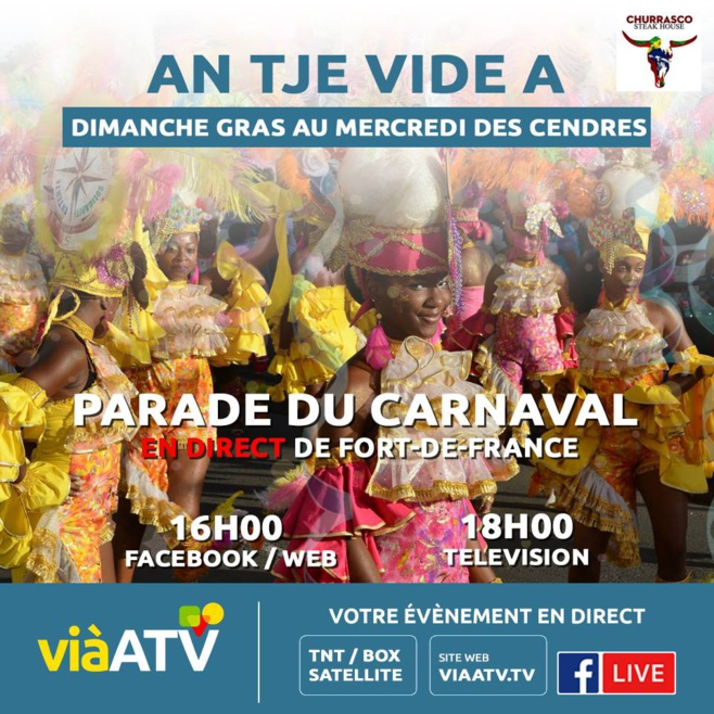 Carnaval 2019 via-ATV an tjè vidé a !