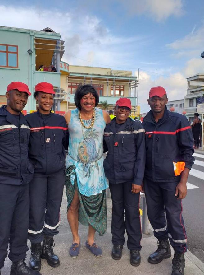 Carnaval 2019 David Zobda an Lari-a