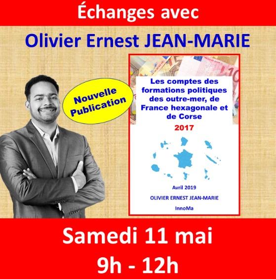 Communiqué d' Olivier Jean-Marie
