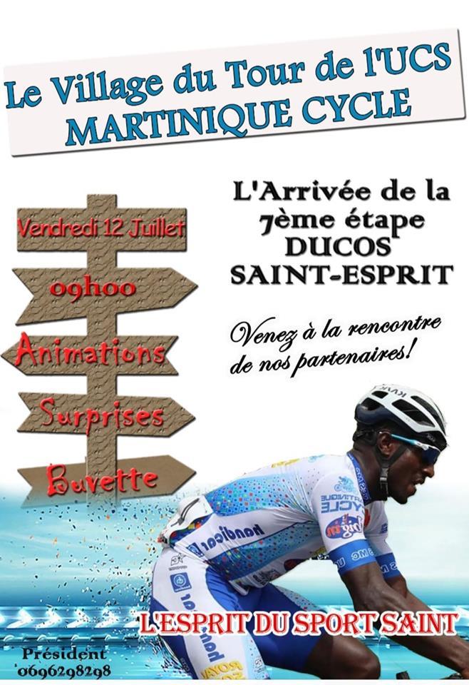 Saint Esprit... Priez pour que les Martiniquais gagnent ce tour 2019 !