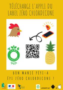 Lu pour vous /  Label ZERO CHLORDECONE, un outil numérique permettant d'assurer la traçabilité des produits.
