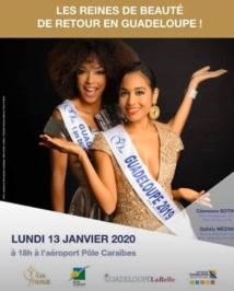 Deux reines de beauté débarquent en Guadeloupe !