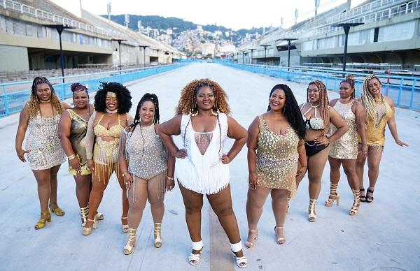 Rio: Pour la première fois une école de Samba va aligner des tailles king size