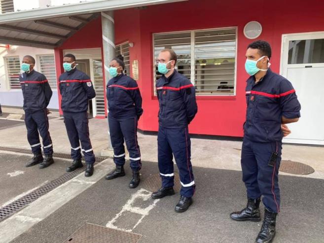 Images Sapeurs-Pompiers de la Martinique