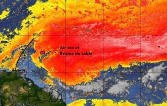 Martinique- le temps / Entre Onde Tropicale, poussière de sable et chaleur