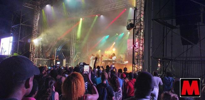 Concert en Martinique