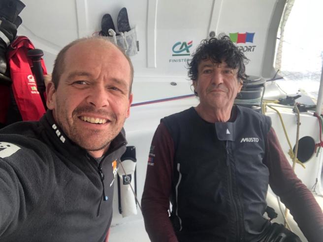 Vendée-Globe / Un homme miraculeusement sauvé en haute mer !