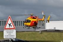 L'hélicoptère de la sécurité civile, le Dragon 972, a effectué dans la nuit du 31, pas moins de  6 missions en appui du SDIS et du SAMU.