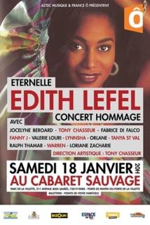AZTEC Musique ET France ô présentent ce concert « ETERNELLE EDITH LEFEL ».