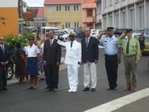 L'Investiture du nouveau Sous-Préfet du Marin, Mr. NARAYANINSAMY Jean-Jacques s'est déroulée ce mardi 14 janvier à 11h00.