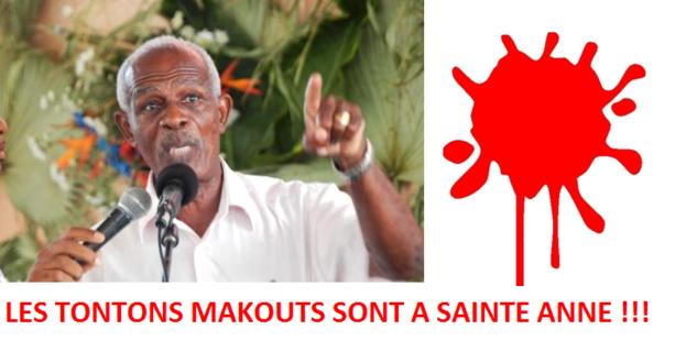 Eric COPETT, candidat à Sainte Anne...a été agressé violemment par des partisans de Garcin MALSA.
