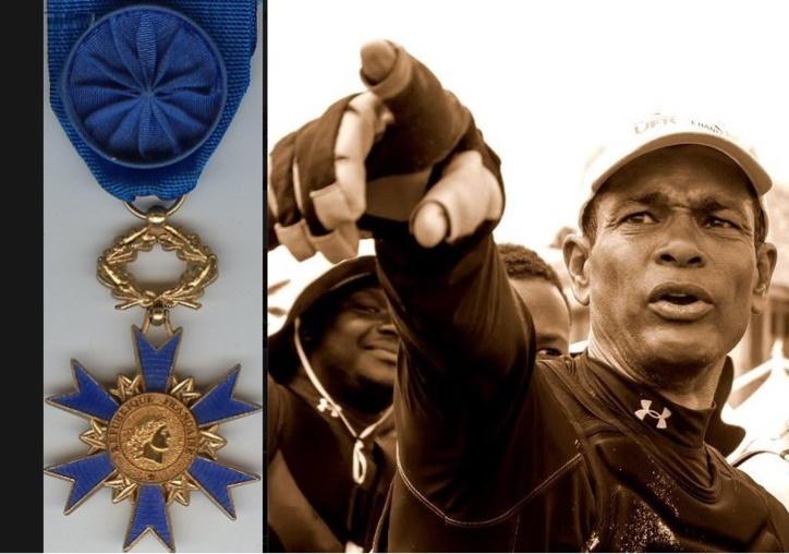 Félix MERINE élevé au grade de chevalier de l'ordre national du mérite !