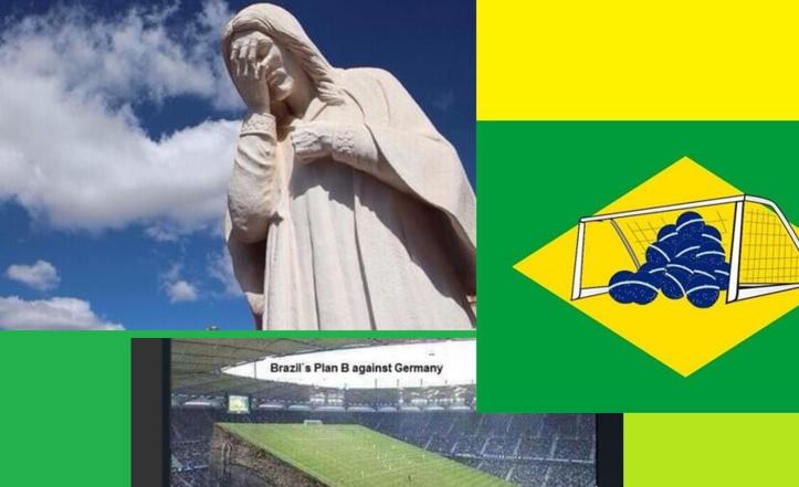 Un peuple  pleure, une notoriété vole en éclat, le Brésil KO debout est ce la fin d'un monde? par Roger TRANQUILLE