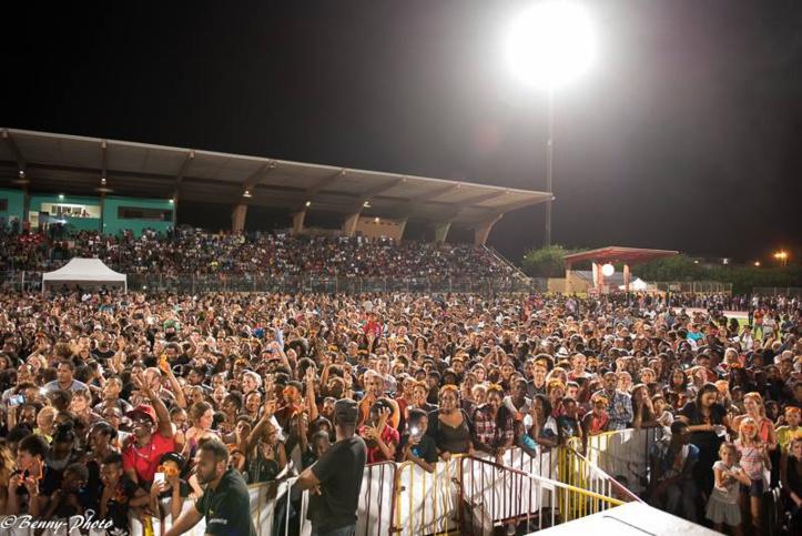 Il y avait plus de monde au concert de Maitre Gimbs  que dans les rue de FDF pour la grève