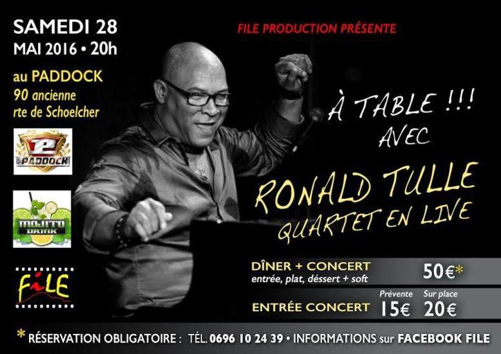 « A table !!! » C'est le rendez-vous incontournable en Martinique pour découvrir les meilleurs artistes du pays avec l'association FILE.