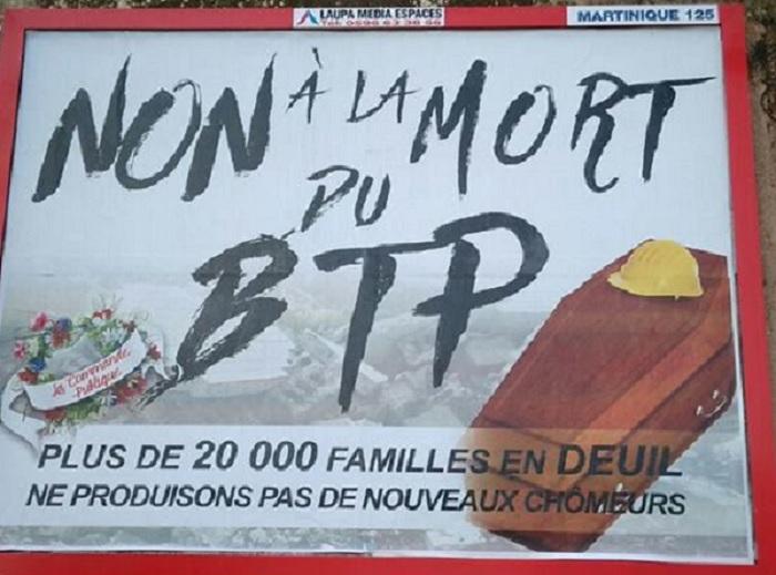Et si cela faisait longtemps que le BTP est mort en Martinique !