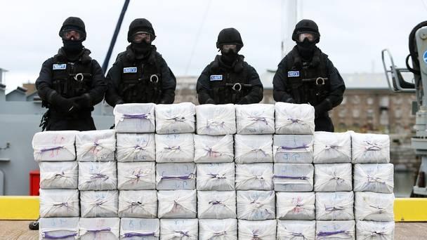 588 kg de cocaïne:  On ne finit pas d'en saisir dans nos eaux!