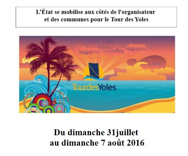 Tour des Yoles Rondes 2016, Tous mobilisés contre le ZIKA !