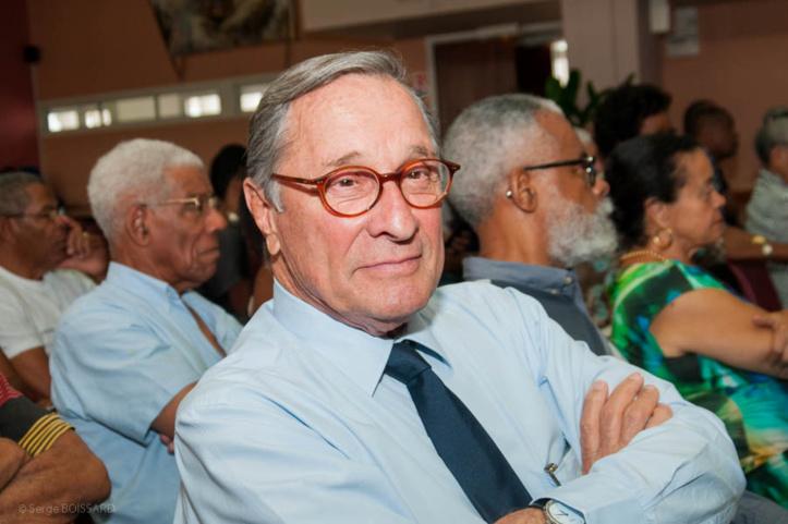 Bernard HAYOT était présent à la présentation du livre d'Edouard DELEPINE.