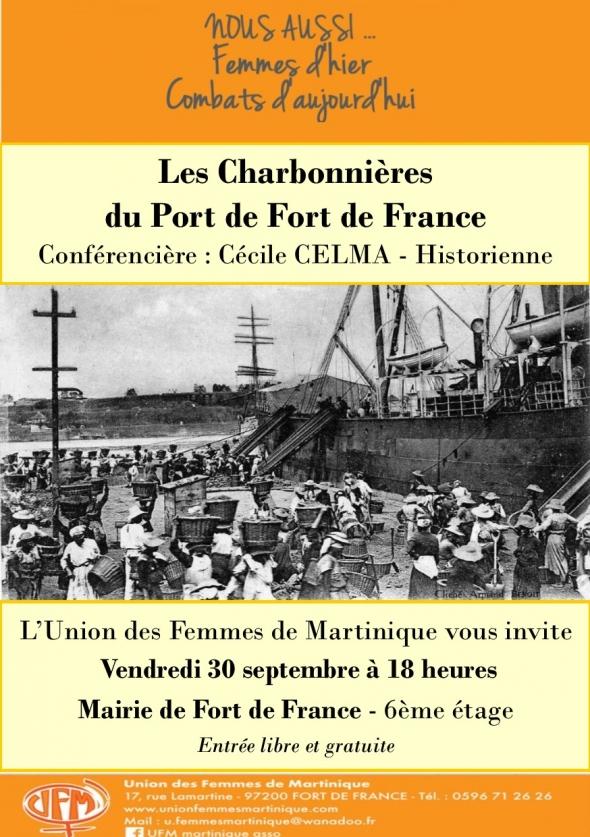 Qui étaient les charbonnières de Fort de France?