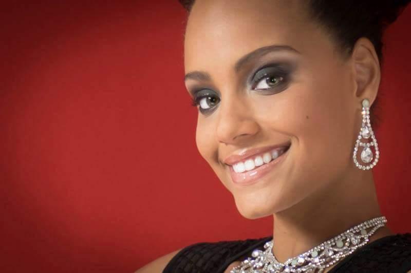 MISS GUYANE et si elle avait les plus beaux yeux du monde?