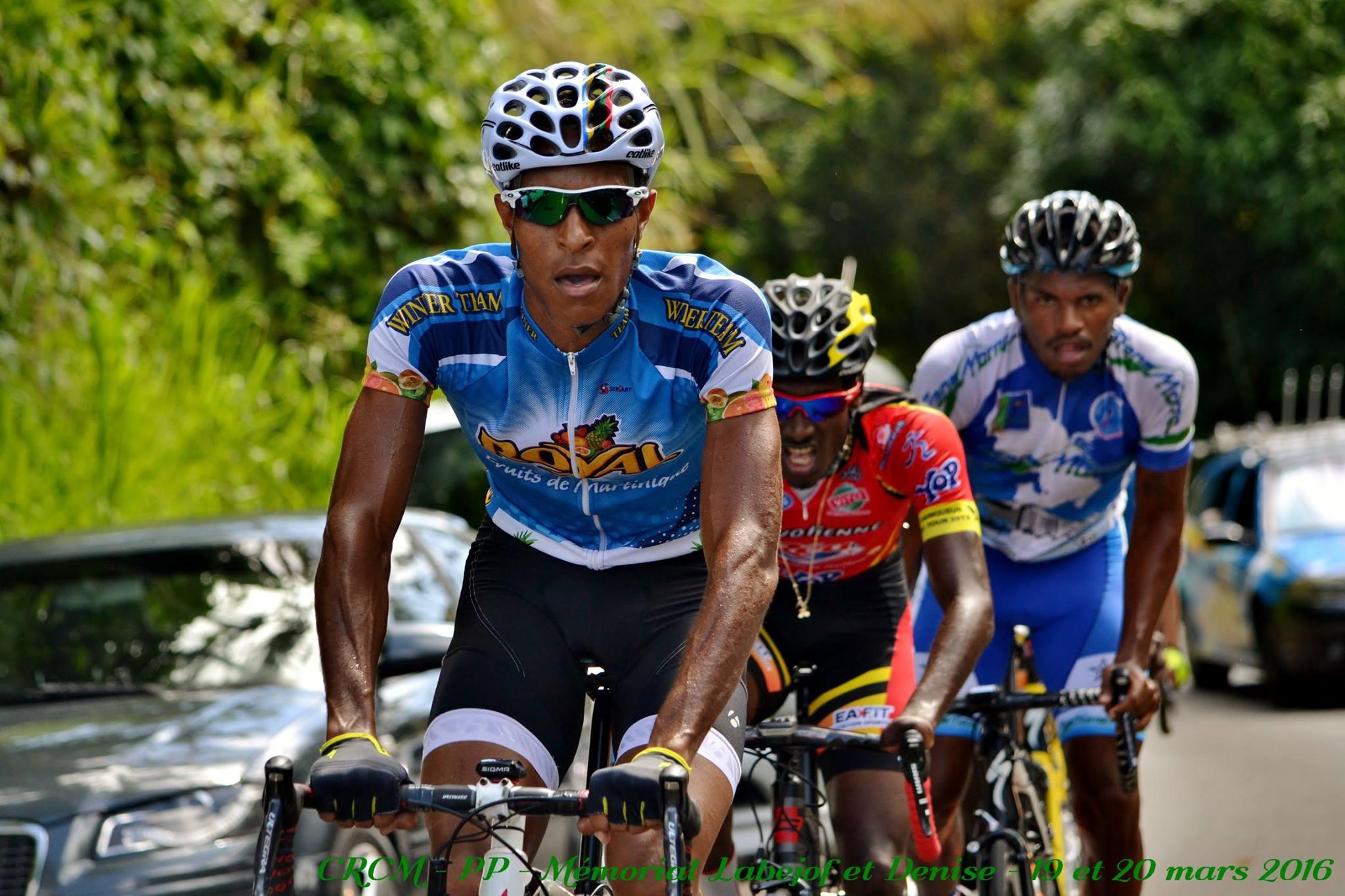 Le calendrier des courses cyclistes sur route de la MARTINIQUE est