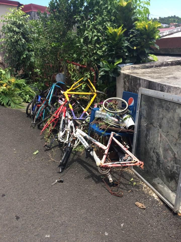 Dépôt de vélos volés pour pièces détachées !