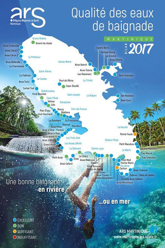 Bilan de la qualité des eaux baignade 2017