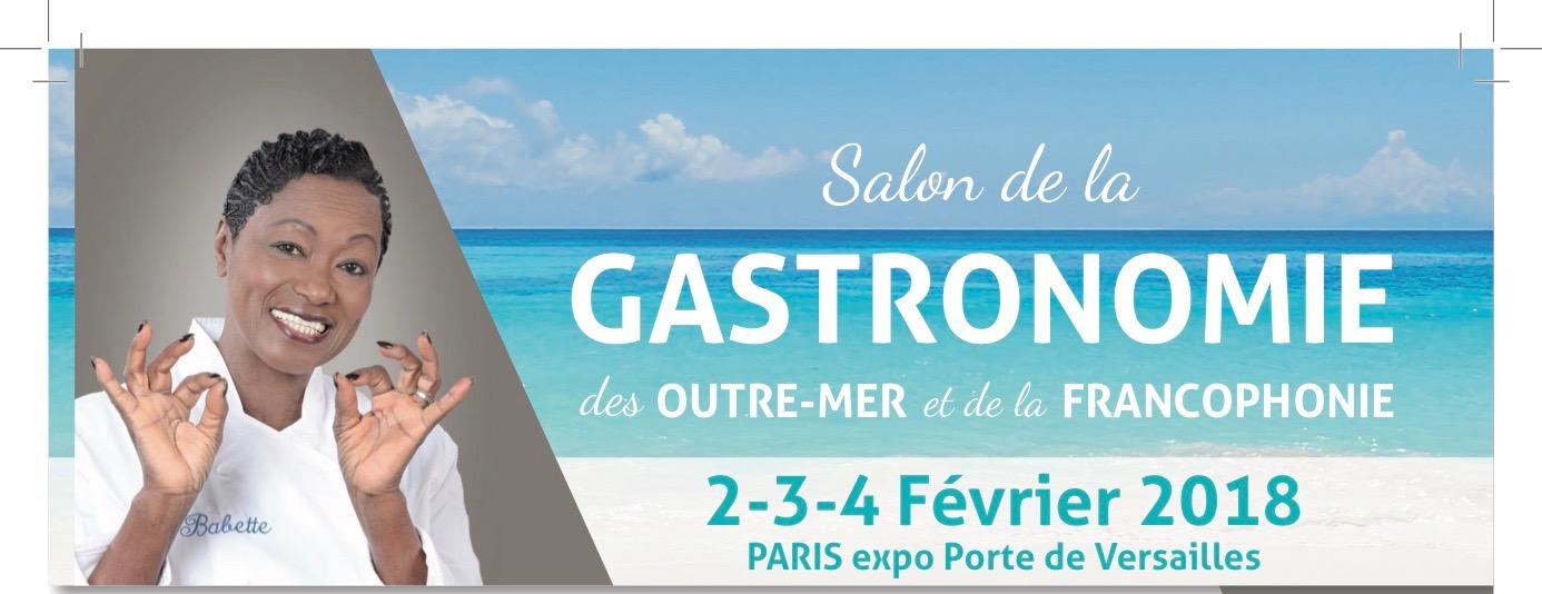 Le Salon de la Gastronomie des Outre-mer et de la Francophonie, l'assiette est juste à point