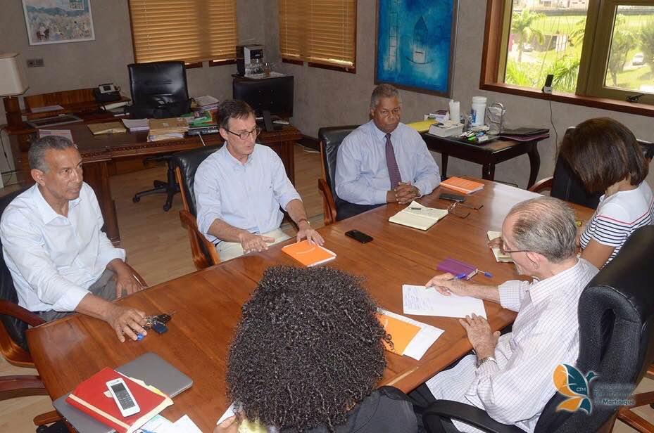Échange constructif entre Contact-Entreprises et le président Alfred Marie-Jeanne sur l'urgente nécessité de renforcer l'attractivité de la Martinique