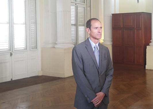 Franck Robine, préfet de la Martinique, a participé à une opération