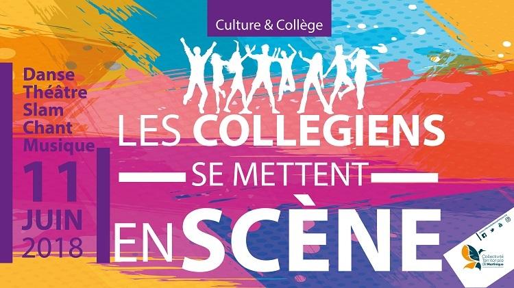 700 collégiens à Tropiques Atrium ce lundi 11 juin 2018, pour restituer sous la forme d'un spectacle, les ateliers culturels