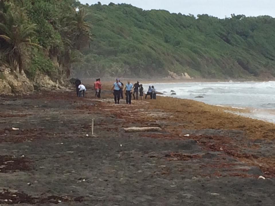 LORRAIN Un corps a été retrouvé ce matin 15 06 2018 sur la plage du lorrain